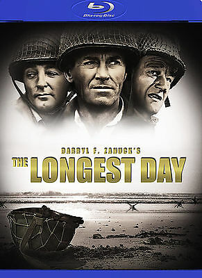 THE LONGEST DAY (Blu-ray Disc, 2009, 2-Disc Set) New / Sealed / Free Shipping
