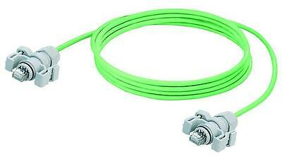 Weidmuller Green Cable Assembly Patch Cord 5m RJ45 to RJ45 PLPL 8829640000 Wire