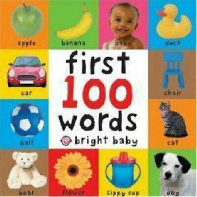 First 100 Words by Roger Priddy 9781843322924 (Board book, 2005)