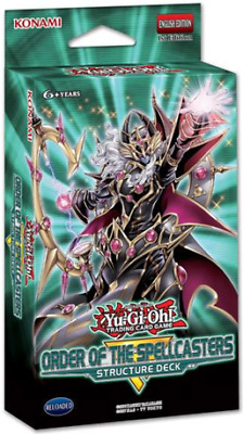 Yu-Gi-Oh! - SR08 STRUCTURE DECK: ORDER OF THE SPELLCASTERS