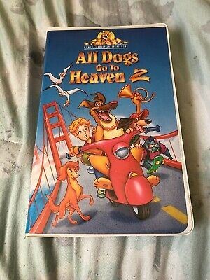 All Dogs Go to Heaven 2 (VHS, 1996, Clam Shell Family Entertainment)