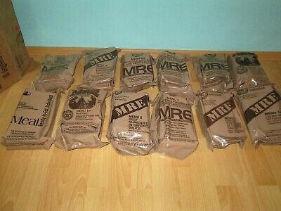 US Army MRE Meal Ready to Eat Verpflegung EPA Ration Prepper Konvolut