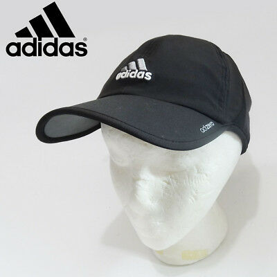 1f3987635fc ADIDAS MEN S ADIZERO II Cap Hat Tennis Running OSFA Adjustable Black ...