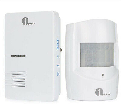 Wireless Home Security Driveway Alarm, 1 Plug-in Receiver and amp; 1 PIR Motion