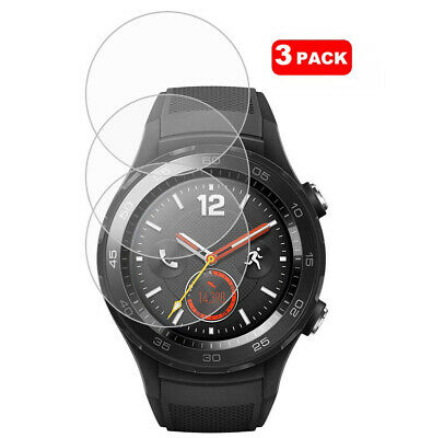 For Huawei Watch 2 Tempered Glass Screen Protector Cover [3 Pack]
