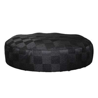 Hot Bar Stool Cover Lifting Chair Cover Grid Pattern Sleeve Seat Slipcover Cloth