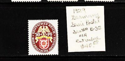 Own Part Of Germany Stamp History 1 Issue Cat $40.00 Stamp  Shown
