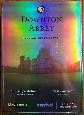 Downton Abbey Complete Dvd Collection Box Set Rare 10000% Usa Authentic ✔☆New☆✔