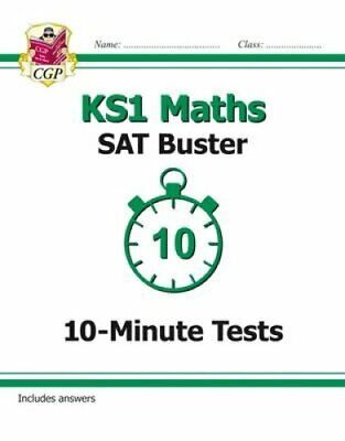 New KS1 Maths SAT Buster: 10-Minute Tests (for the 2019 tests) 9781782947080