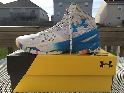 buy popular ba94b 1f81d UNDER ARMOUR UA Curry 2 Basketball Shoes Birthday Size 10 1259007-103