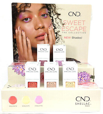CND SHELLAC LUXE .42oz/12.5ml - SWEET ESCAPE 2019 Collection - Pick Any Color