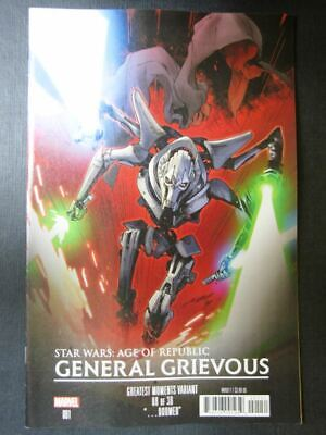 Star Wars: Age of Republic: General Grievous #1 - May 2019 - Marvel Comics # 4G6