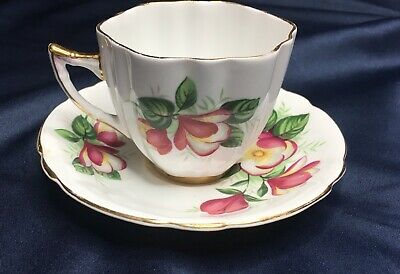 Society Fine Bone China Tea Cup And Saucer