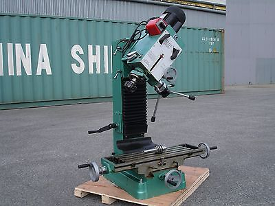 Geared Head Dovetail Milling & Drilling Machine 1100W/240V/ (Mill Drill)
