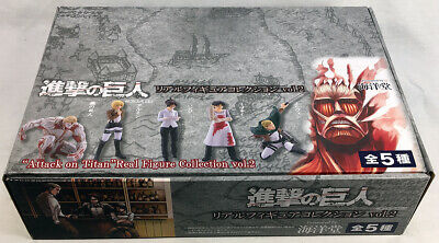 Attack on Titan Real Figure Collection Vol.2, 12 Blind Capsule Display Box/Case