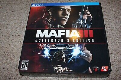 Mafia III Collector's Edition (Playstation 4 ps4) NEW Sealed