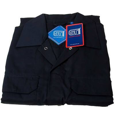 Supertouch 51901 Polycotton Coverall Navy Small Regular Leg Chest 92cm-96cm