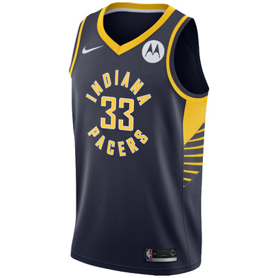 ee8e38845 Indiana Pacers - Myles Turner  33 Nike Navy Swingman NBA Jersey - Icon  Edition