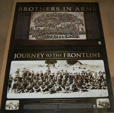 Anzac Gallipoli - Brothers In Arms & Journey To The Frontline World War Prints