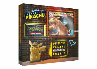 Pokemon Trading Card Game Detective Pikachu Charizard GX Case File NOW SHIPPING