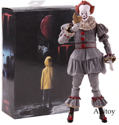 Stephen King's It Pennywise Action Figure NECA PVC Horror Movies Toys Collectibl