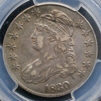 1830 Capped Bust Half Dollar Overton O-118 - PCGS XF45 - Small 0 - CAC Certified