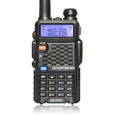 Baofeng BF-F8+ Two Way Ham Radio Dual Band UHF VHF Walkie Talkie Transceiver 5W