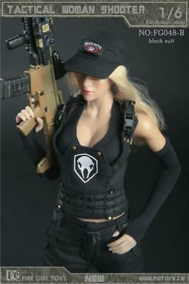 Boots Fire Girl Action Figure Tactical Female Shooter - 1//6 Scale for Pegs