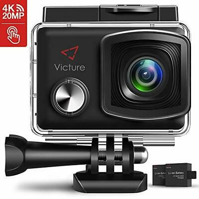 Victure Action Cam 4K 20MP WiFi Touch Screen Ultra Full HD 30 Meters Unterwasser