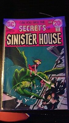 DC Secrets of Sinister House set of three, issue 7 (1972), 16 and 18 (both 1974)