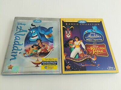 Aladdin and the King of Thieves/The Return of Jafar/Aladdin Bluray/Dvd (No Code)