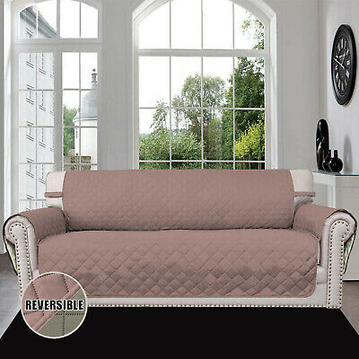 Reversible Sofa Covers,Furniture Protector Water Resistant Pets Couch Shield