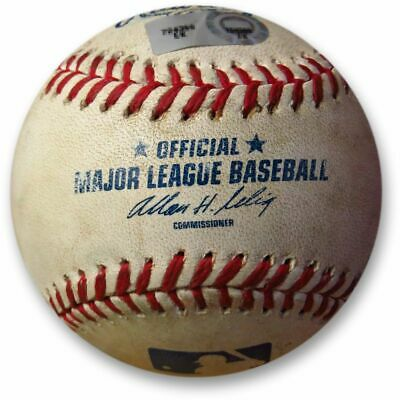 Los Angeles Dodgers vs Washington Nationals Game Used Baseball 08/08/10 MLB Holo