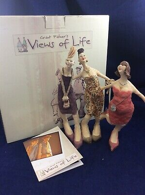 Grant Palmer's Views of Life Girls Night Out Figure in Box