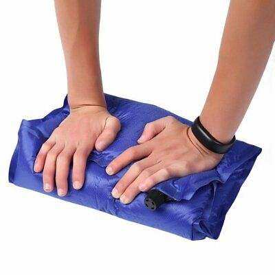 Automatic Inflatable Air Cushion Pillow Portable Outdoor Travel Camp RD
