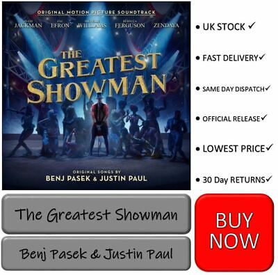 The Greatest Showman Soundtrack Brand New Cd Album Same Day Dispatch Buy Now