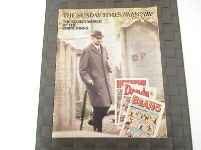 Sunday Times Magazine July 29 1973 D.c. Thomson & Co Dandy Beano Comics *read*