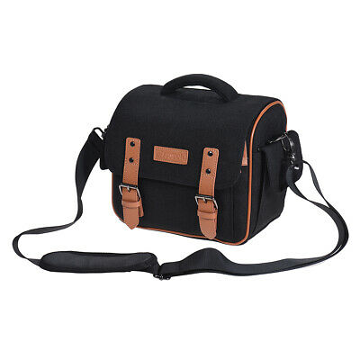 DSLR SLR Camera Shoulder Messenger Bag Case Shockproof Waterproof for Canon W9K3