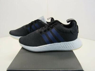 the latest 5ce09 89edd ADIDAS ORIGINALS WOMEN'S NMD_R2 Shoes Core Black/Noble Indigo CQ2008 Size  7.5