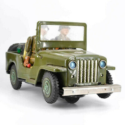 Großer Militär Jeep Military Police - Fa T.N - Toy Nomura - Japan