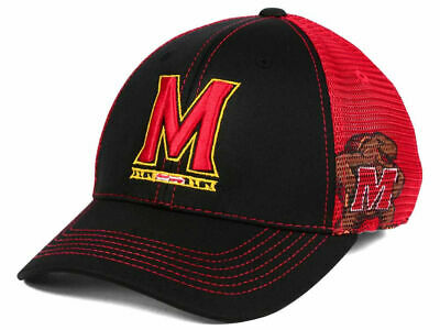 new styles 0915c 56e47 Maryland Terrapins NCAA Peakout Mesh Back Cap Hat University College Park  TERPS