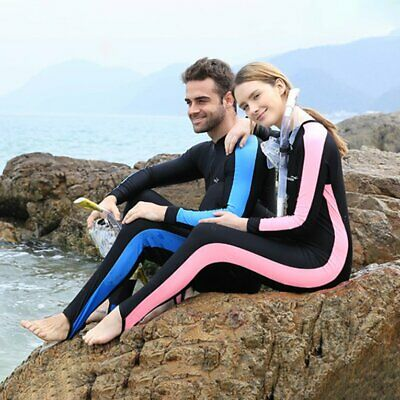 Adult Diving Suits Swimwear Long Sleeves Man Woman Snorkeling Swimming Wets G7