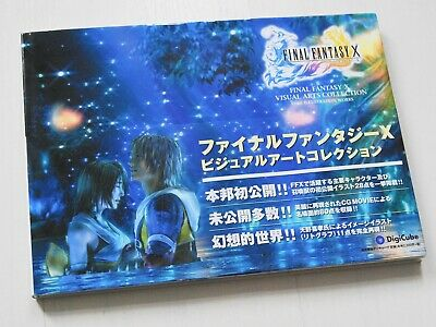 Final Fantasy X Visual Arts Collection CG & Illustration Works Artbook Jp Import