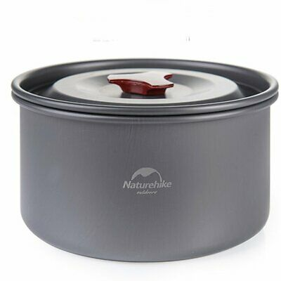 NH15T203-G Camping Pot Cooker Portable Combination Pot Tableware 2-3 Peo R3