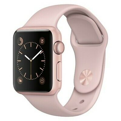 Apple Watch Series 1 Aluminum Case - Rose Gold - 38mm (MNNH2LL/A)