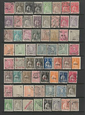 Portuguese Colonies, early collection, 123 stamps