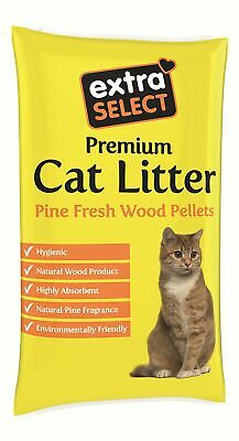 Extra Select Premium Wood Based Cat Litter, 30 L