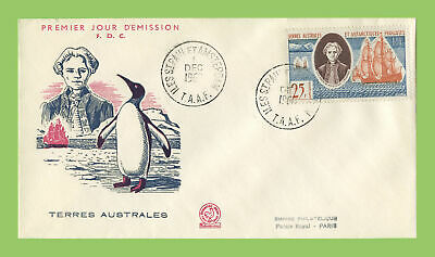 French Antarctic 1960 Discovery of Kerguelen Archiepelego First Day Cover