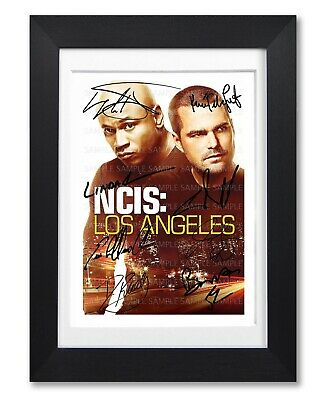 Ncis Los Angeles Tv Series Season Cast Signed Poster Print Photo Autograph Gift
