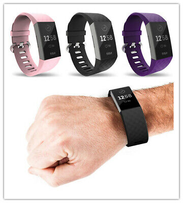 For Fitbit Charge 3 Wrist Straps Wristband Replacement Accessory Watch Band UK